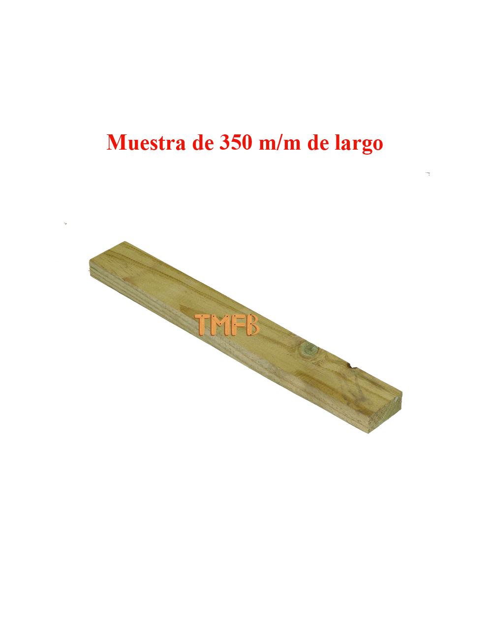 RASTREL PINO INSIGNIS TRATADO R-3 47X19X2500 mm
