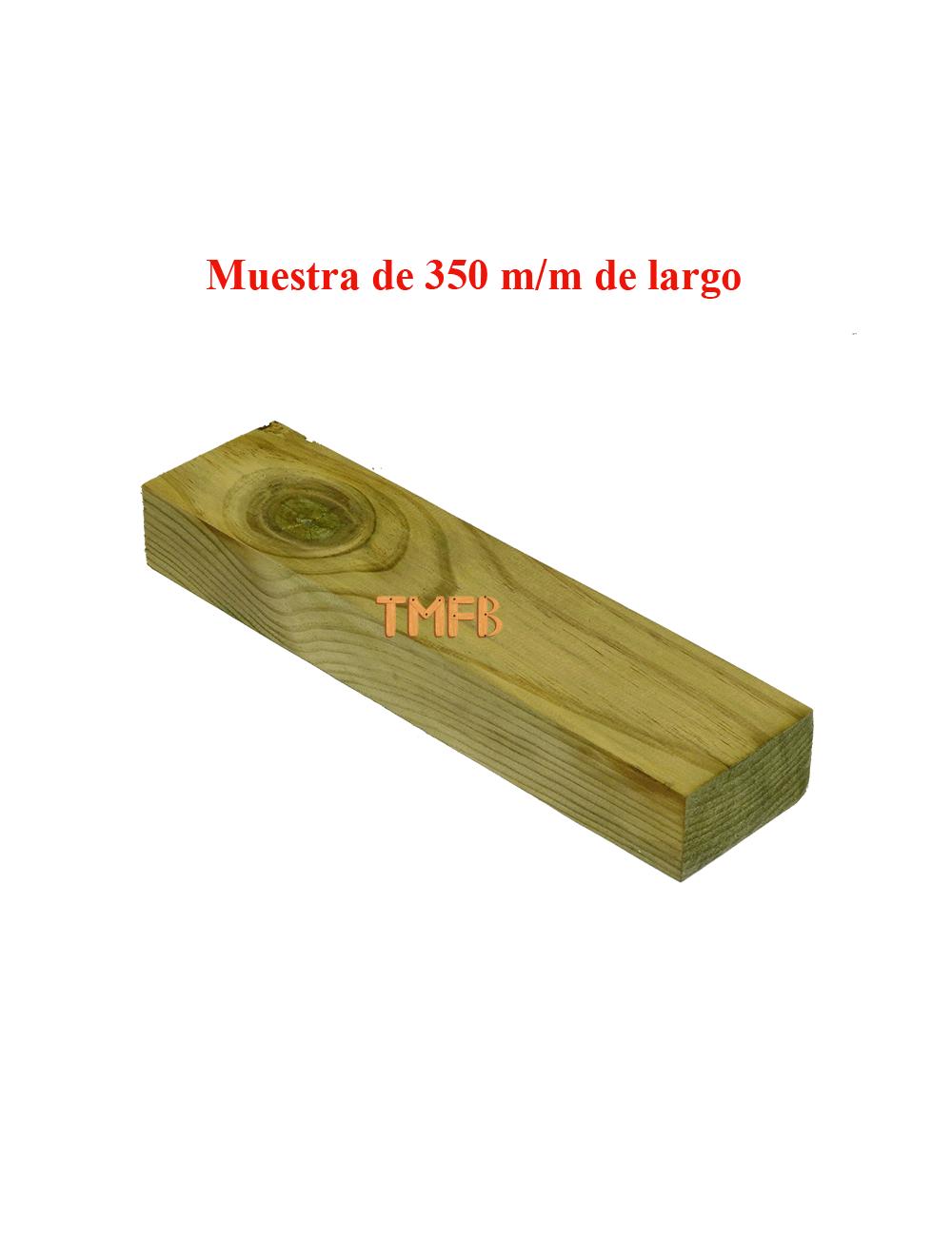 RASTREL PINO INSIGNIS TRATADO R-3 87X45X2500 mm