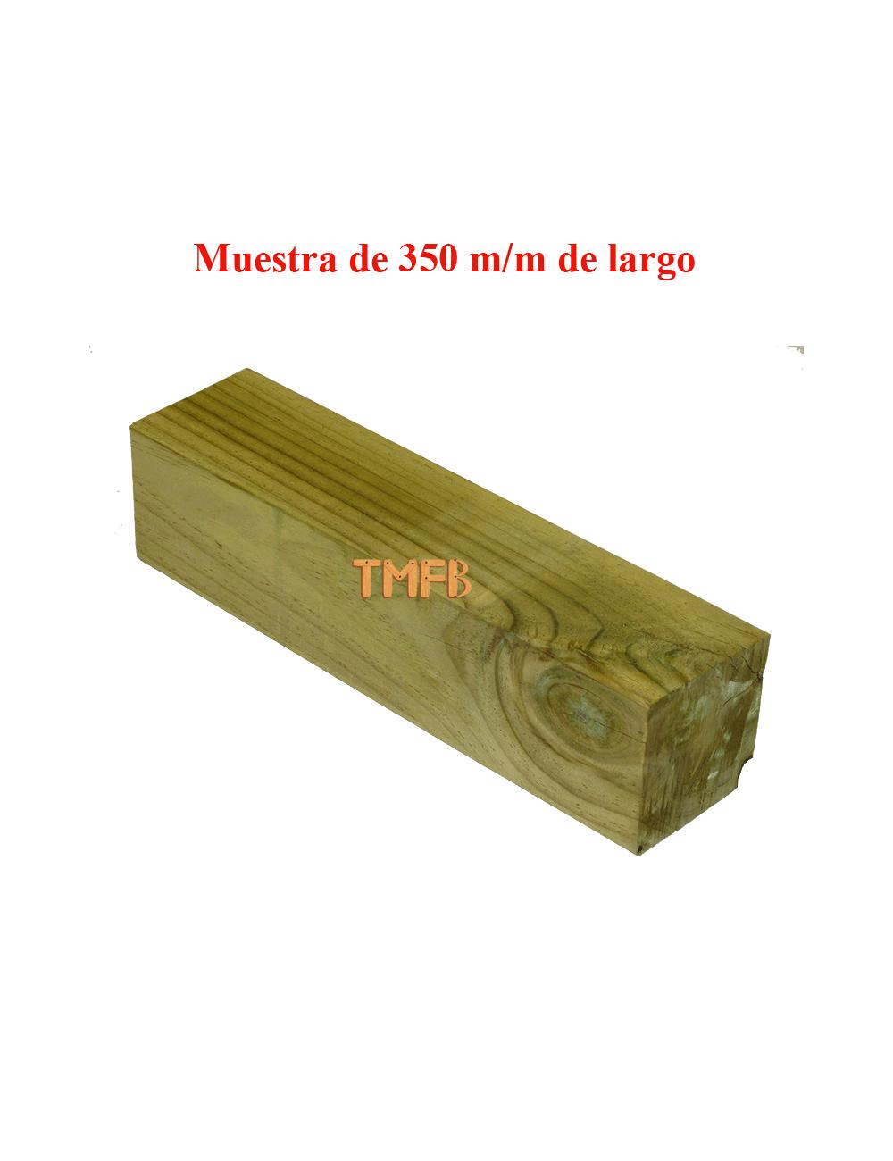 RASTREL PINO INSIGNIS TRATADO R-3 87X87X3000 mm
