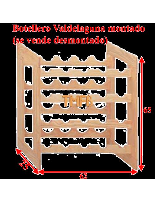 BOTELLERO MADERA DE PINO Mod. VALDELAGUNA-20 botellas