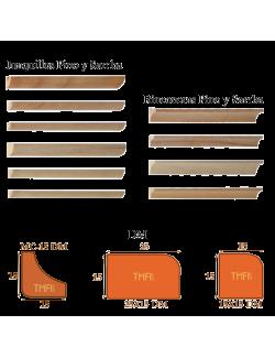 Junquillos Rinconeras de MDF y de madera