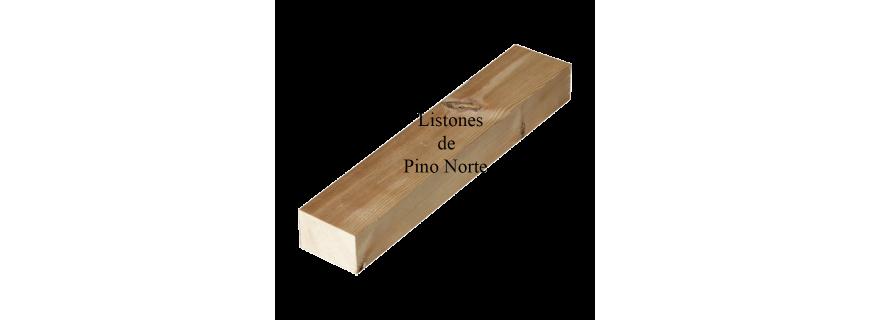Listones de madera de Pino Norte