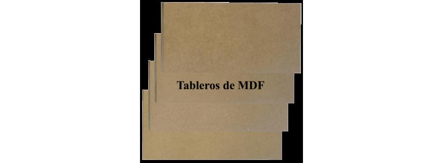 Tableros de MDF o DM