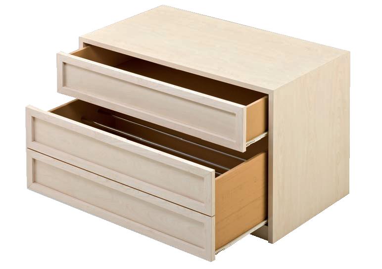 zapatero sencillo más un cajón normal